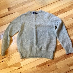 J Crew Lambswool Sweater Medium